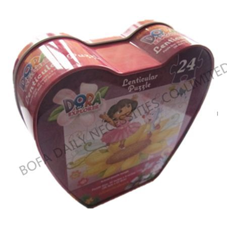Heart shaped cake box