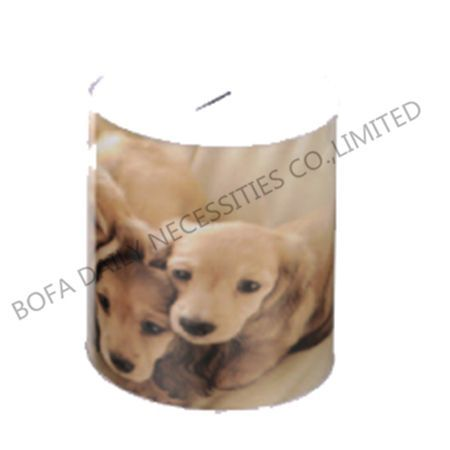 Dog printing money box