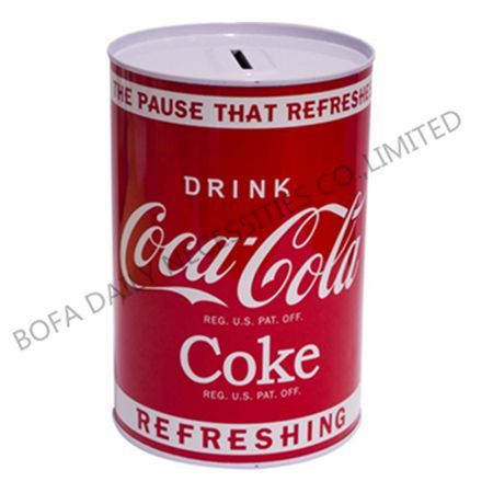 Coca-cola money box