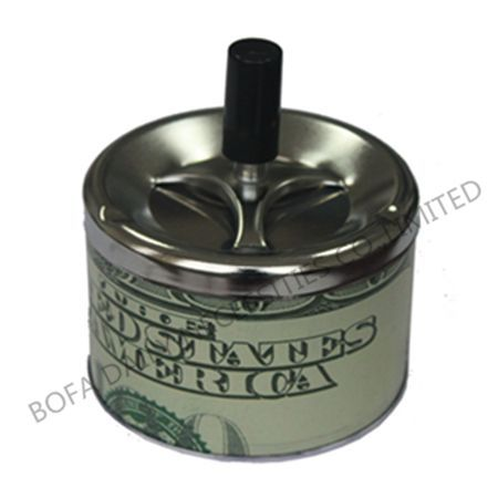 Ashtray with handle