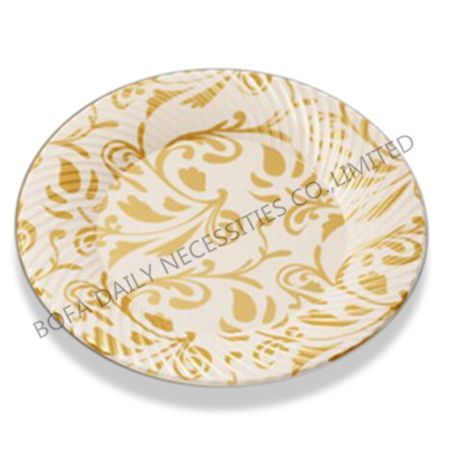 Metal(golden) printing round p...