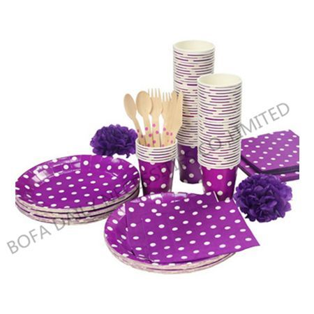 White dot printing tableware s...