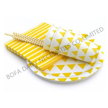 Yellow triangle printing table...